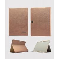 Чехол смарт флип подставка серия Glossy Shield для Samsung Galaxy Tab Pro 10.1 Оранжевый