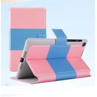 Чехол подставка двухцветный c застежкой для ASUS Nexus 7 II 2013 Розовый