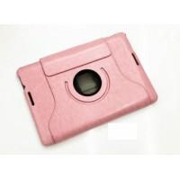 Чехол подставка роторный серия Glossy Shield для ASUS MeMoPad 10 Me102a Розовый
