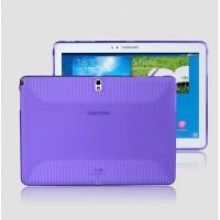 Силиконовый чехол для Samsung Galaxy Note 10.1 2014 Edition Фиолетовый