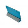 Чехол смарт флип подставка сегментарный на пластиковой основе для Lenovo S6000