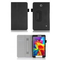 Чехол подставка с внутренними карманами и держателем кисти серия Full Cover для Samsung Galaxy Tab 4 8.0