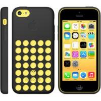 Оригинальный силиконовый чехол Apple для Iphone 5c Черный
