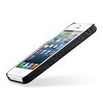 Кожаный чехол накладка Back Cover (нат. кожа змеи) для Iphone 5s/SE
