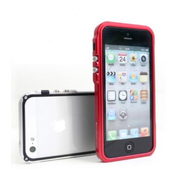 Металлический премиум бампер серия Metal Trigger для Iphone 5/5s/SE