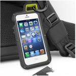 Экстремальный резиновый премиум чехол серия Mountain для Iphone 5/5s/SE