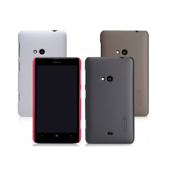 Пластиковый матовый нескользящий премиум чехол для Nokia Lumia 625