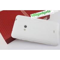 Силиконовый чехол S для Nokia Lumia 625 Белый