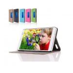 Чехол смарт флип подставка текстурный с окном вызова для Huawei MediaPad X1