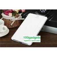 Чехол смарт флип подставка сегментарный серия Smart Cover для Samsung Galaxy Tab Pro 8.4 Белый