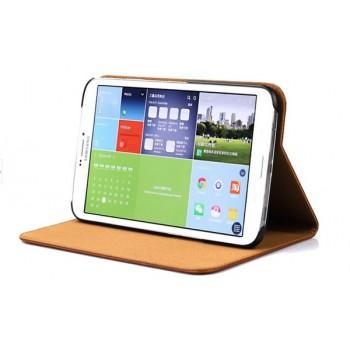 Кожаный чехол флип подставка (нат. кожа) для Samsung Galaxy Tab Pro 8.4