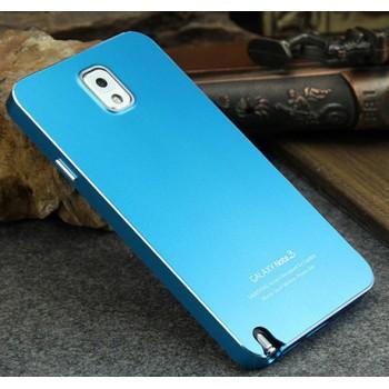 Сверхлегкий ультратонкий премиум металлический чехол для Samsung Galaxy Note 3 (используется при снятой задней крышке) (N9002, N9006, N9008, N9009)