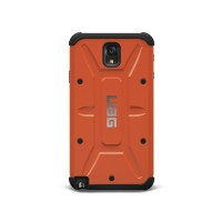 Металлический экстрим защитный чехол Samsung Galaxy Note 3 Оранжевый