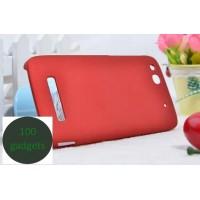 Пластиковый чехол для Alcatel One Touch Idol Alpha Красный
