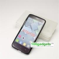Силиконовый чехол для Alcatel One Touch Idol Mini Черный