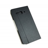 Чехол флип подставка для Alcatel One Touch Idol S Черный