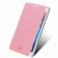 Чехол флип подставка водоотталкивающий для Alcatel One Touch Idol X+ Розовый