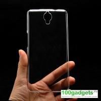 Пластиковый транспарентный чехол для Alcatel One Touch Idol X+