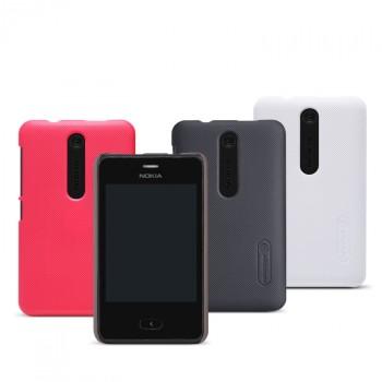 Пластиковый матовый премиум чехол для Nokia Asha 501