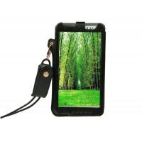 Кожаный чехол бампер подвеска подставка для Asus Fonepad Note 6 Черный