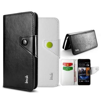 Кожаный чехол книжка горизонтальная для HTC Butterfly S