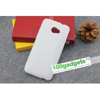 Силиконовый чехол S для HTC Butterfly S Белый