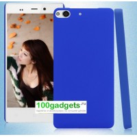 Пластиковый чехол для Fly IQ453 Luminor Синий