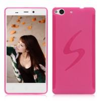 Силиконовый чехол S для Fly IQ453 Luminor Розовый