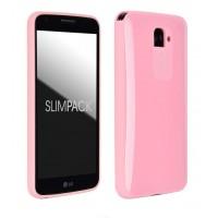 Силиконовый премиум чехол серия Ergonomic для LG Optimus G2 Розовый