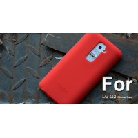 Силиконовый чехол софт тач премиум для LG Optimus G2 Красный
