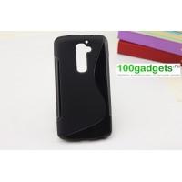 Силиконовый чехол S для LG Optimus G2 Черный