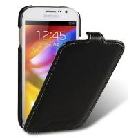 Кожаный чехол вертикальная книжка (нат. кожа) для Samsung Galaxy Grand / Grand Neo