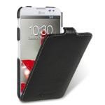 Кожаный чехол вертикальная книжка (нат. кожа) для LG Optimus G Pro