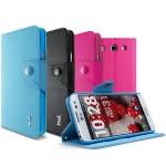 Чехол портмоне подставка для LG Optimus G Pro E988