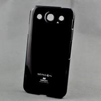 Чехол силиконовый премиум для LG Optimus G Pro E988 Черный