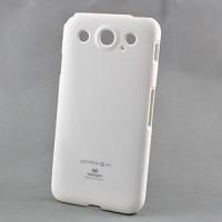 Чехол силиконовый премиум для LG Optimus G Pro E988 Белый
