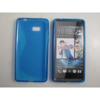Силиконовый чехол S для HTC Desire 600 Синий