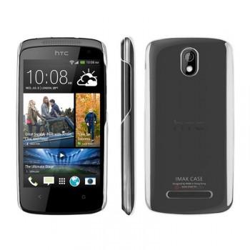 Пластиковый транспарентный чехол для HTC Desire 500