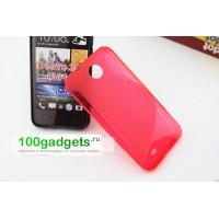 Силиконовый чехол S для HTC Desire 300 Красный