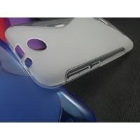 Силиконовый S чехол для HTC Desire 310 Серый