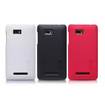 Пластиковый матовый премиум чехол для HTC Desire 400 Dual SIM
