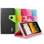 Чехол подставка подставка с застежкой для HTC Desire 400 Dual SIM