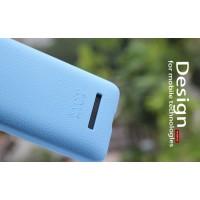 Силиконовый чехол софт тач премиум для HTC Desire 400 Dual SIM Голубой