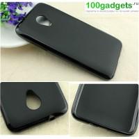 Силиконовый чехол для HTC Desire 700 Черный