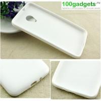 Силиконовый чехол для HTC Desire 700 Белый