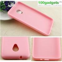 Силиконовый чехол для HTC Desire 700 Розовый