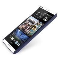Кожаный чехол накладка серия Back Cover (нат. кожа) для HTC Desire 816 синяя