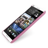 Кожаный чехол накладка серия Back Cover (нат. кожа) для HTC Desire 816 розовая