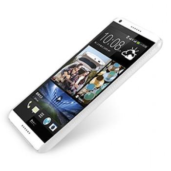 Кожаный чехол накладка серия Back Cover (нат. кожа) для HTC Desire 816 белая
