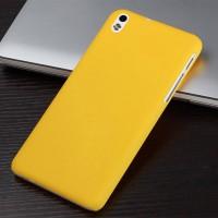 Пластиковый чехол для HTC Desire 816 Желтый